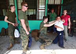 Kari Costas Marines Bring Joy To Costa Rican Students U003e 2nd Marine Aircraft