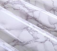 gray marble waterproof vinyl self adhesive wallpaper sticker