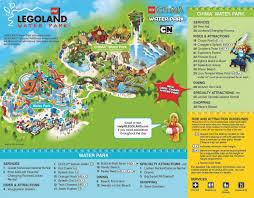 Orlando Theme Parks Map by Legoland Water Park Thrillz The Ultimate Theme Park Review Site