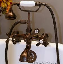 Oil Rubbed Bronze Clawfoot Tub Faucet Clawfoot Bathtub Faucet Nrc Bathroom