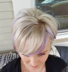 22 sassy purple highlighted hairstyles for short medium long