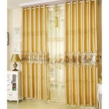 Coloured Curtains Impressive Gold Coloured Curtains Decorating With Shab Chic