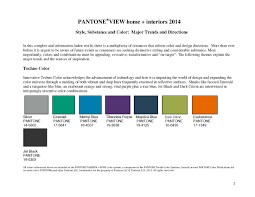 color trends 2014 home interiors pantoneview home