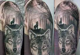 half sleeve moon ideas for tattoos