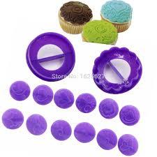 Cupcake Decorating Tools Aliexpress Com Buy Fondant Cake Decorating Tools Diy 14pcs