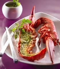 cuisiner un homard recette homard au beurre persillé 750g