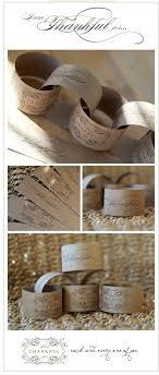 printable napkin rings diy wedding ideas kraft paper printable napkin rings