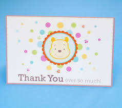 Thank You Cards For Baby Shower Gifts - winnie the pooh baby shower ideas disney baby