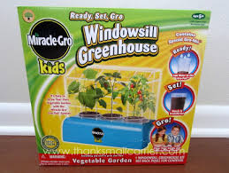 Windowsill Greenhouse Thanks Mail Carrier Miracle Gro Kids Gardening Sets From