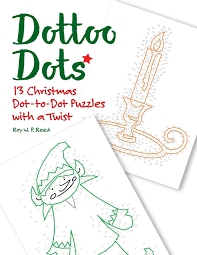 christmas dot to dot skip counting number puzzles 13