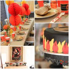 kara u0027s party ideas hunger games themed tween birthday party ideas