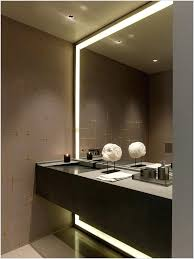 Backlit Bathroom Mirror by Awesome 40 Lighted Bathroom Vanity Mirrors Inspiration Design Of
