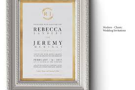 Classic Wedding Invitations 50 Stylish Wedding Invitation Templates