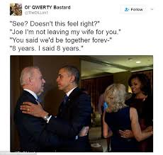 Bromance Memes - joe biden s daughter says he loves obama bromance memes daily