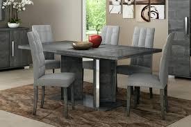 gray round dining table set gray dining room set toberane me