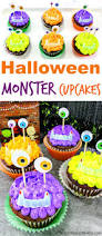easy to make halloween monster cupcakes monster cupcakes
