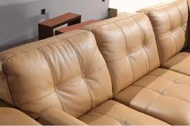 Tan Coloured Leather Sofas Italian Leather Sofa Sectional Vcal 06 Leather Sectionals