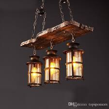 Country Style Pendant Lights Vintage American Country Style Lighting Fixture Bar Coffee House
