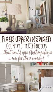 cheap and chic diy country decor a lá anthropologie