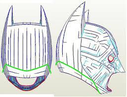 batman tdk cowl and batsuit pepakura files page 2