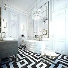 black and white bathroom decor ideas black and white tile bathroom decorating ideas cool black and white