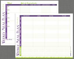printable meal prep templates and meal planning tips grassfed