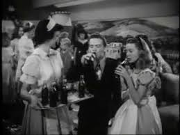 Driscoll S Black Amp White Bobby Driscoll Drinking Coca Cola In One Hour In Wonderland Youtube