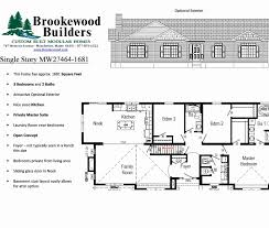 ranch home plans with basements luxury 4 bedroom ranch house plans basement house plan