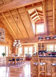 open floor plan cabins log home open floor plan log homes inside out