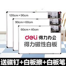 effective hanging type magnetic big white board writing teaching