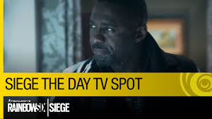 Rainbow Six Siege Starring Idris Tom Clancy S Rainbow Six Siege Official Siege The Day Tv Spot Ft