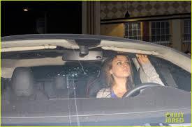 mila kunis flashes huge engagement ring at dinner ashton kutcher