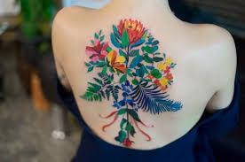 elegant tattoos that look like color pencil doodles designtaxi com