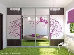 Closet Set by Teenage Bedroom Design Ideas White Pink White Laminated