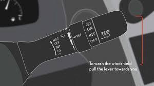 lexus rx400h wiper blades 2013 lexus windshield wipers and rear window wiper intermittent