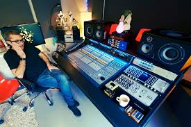 Home Studio Mixing Desk by Muse Engineer Adrian Bushby Upgrades His Garden Studio With Ssl