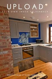 Kitchen Tiled Splashback Designs by 62 Best Patterned U0026 Image Glass Splashbacks Images On Pinterest
