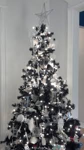 blackristmas tree decorations mini trees artificial