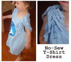 make a t shirt dress