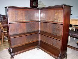 Corner Bookcase Oak Oak Corner Bookcase 259596 Sellingantiques Co Uk