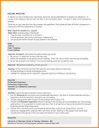 Resume Mission Statement Sample by 9 Good Resume Objective Statement Formatting Letter