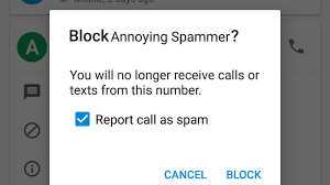 how to block a text on android how to block annoying spam calls and texts in android nougat