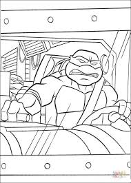 raphael rides a van coloring page free printable coloring pages