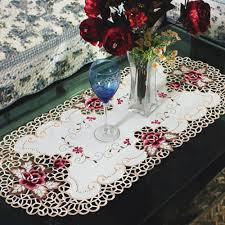 Vintage Rose Home Decor by Online Get Cheap Vintage Rose Tablecloth Aliexpress Com Alibaba