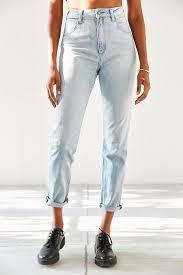 neuw lola melrose blue jean in blue lyst