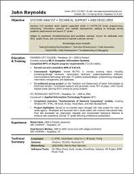 systems analyst resume doc cover letter systems analyst resume example information systems