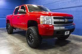 Red Lifted Chevy Silverado Truck - lifted 2008 chevrolet silverado 1500 4x4 northwest motorsport