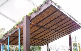 Pergola Roof Cover by Green Living Roof 05 Jpg 1200 754 Courtyard Pinterest