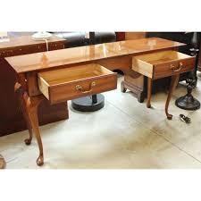Teak Computer Desk Magnificent Computer Desk Solid Wood Construction Teak