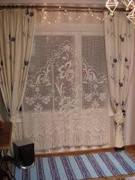 Crochet Lace Curtain Pattern 29 Best Crochet Curtains Images On Pinterest Crochet Curtains